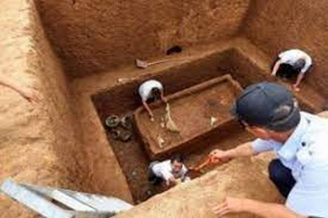 У Південній Кореї знайшли могилу велетня