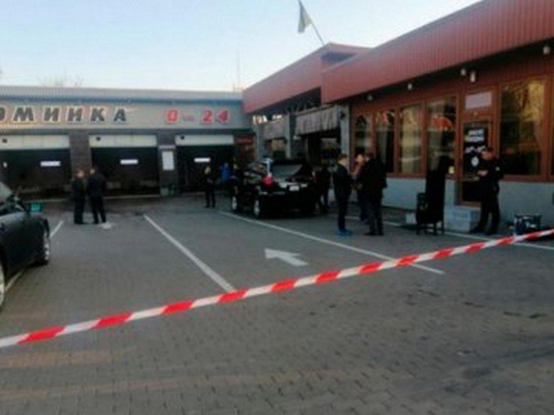 На Чернігівщині затримали чоловіка, причетного до стрілянини на луцькій автомийці