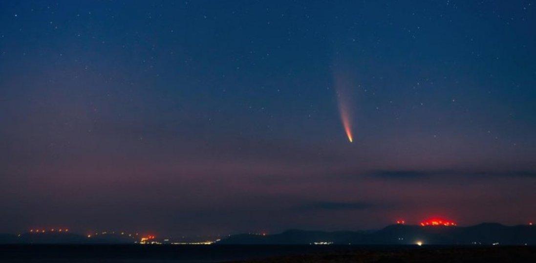 В Туреччині впав метеорит та не вщухають пожежі