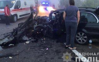 На Волині в ДТП постраждало семеро людей: зіткнулися BMW та Renault Trafic