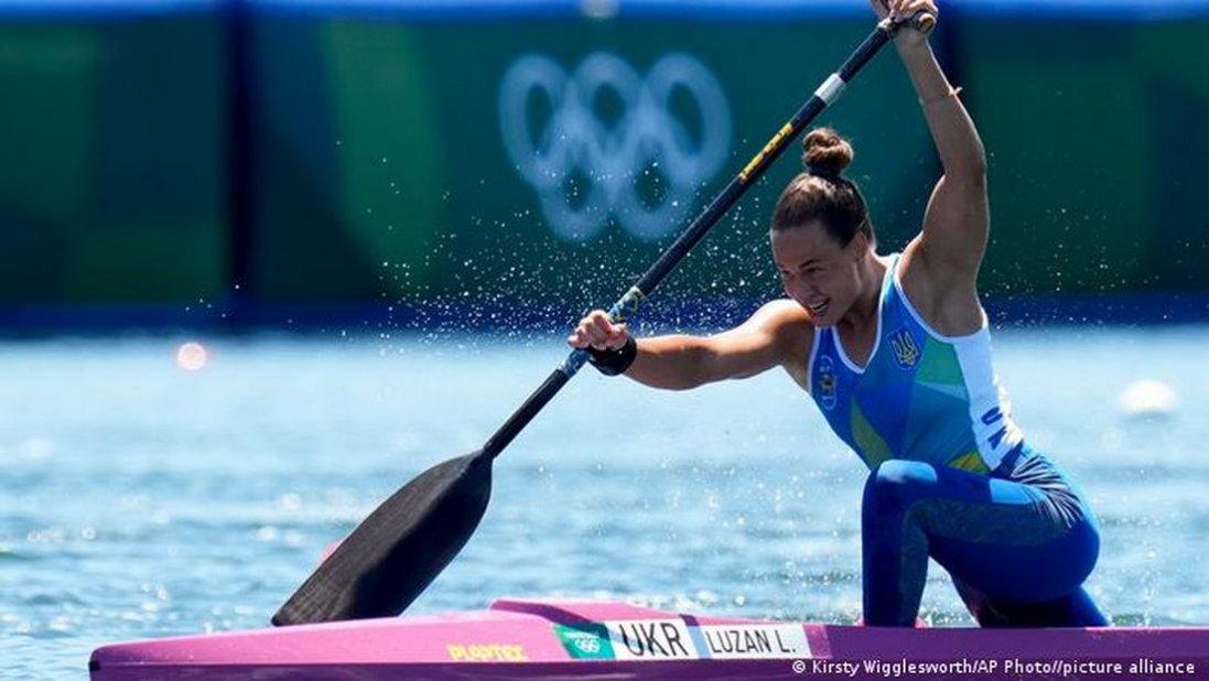 Українська каноїстка Людмила Лузан завоювала бронзу на Олімпіаді