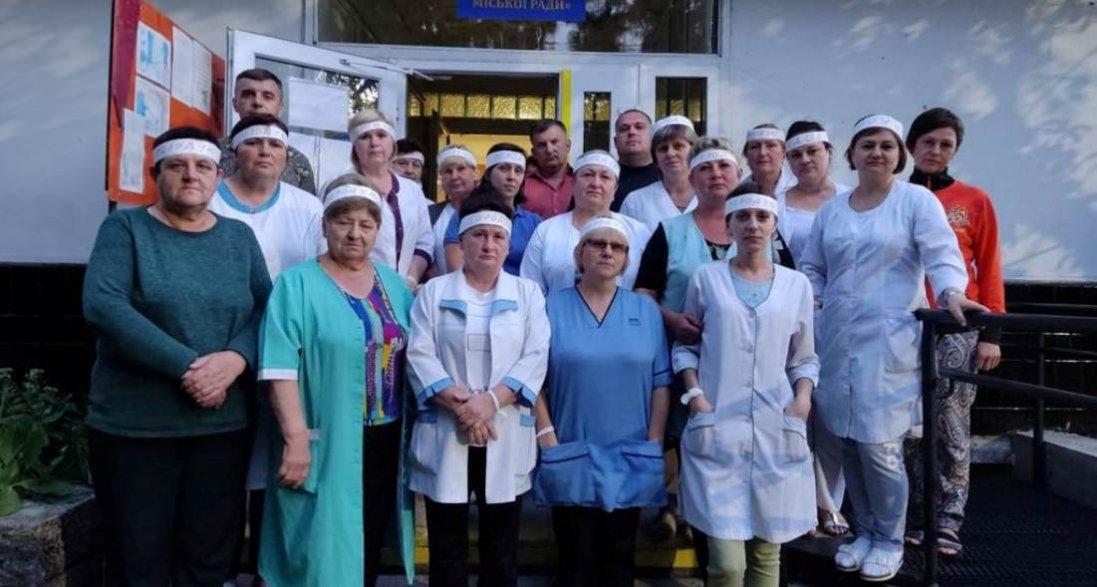 Голодування через борги: на Львівщині медпрацівники 3 місяці не отримують зарплату