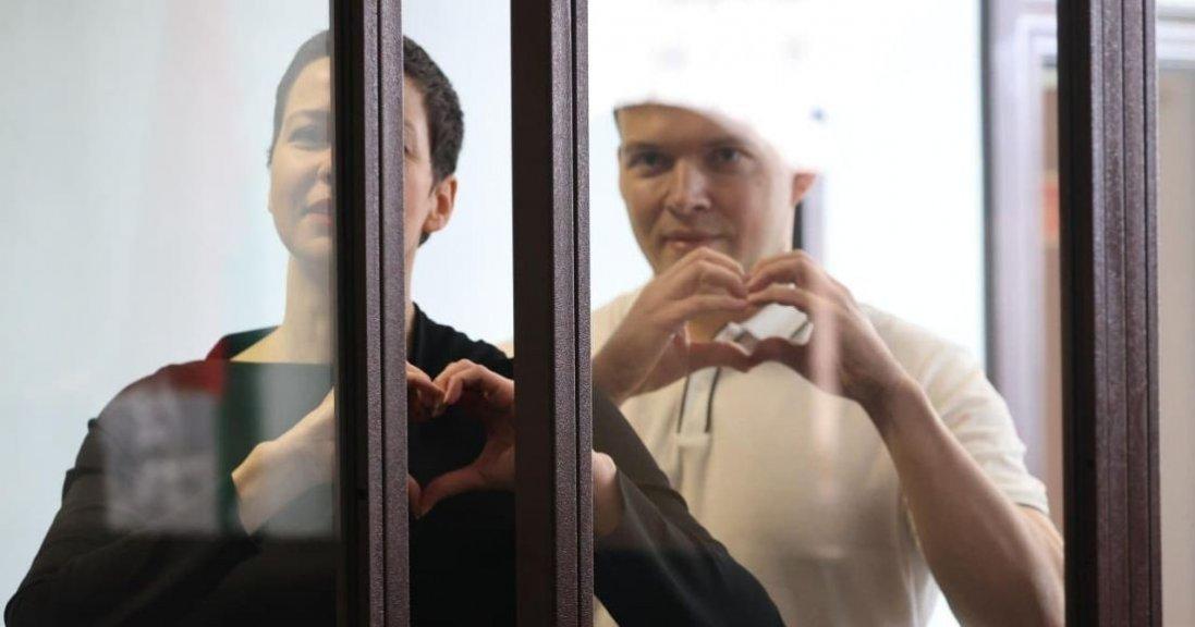 У Білорусі опозиціонерів Колеснікову і Знака засудили до 11 і 10 років ув'язнення