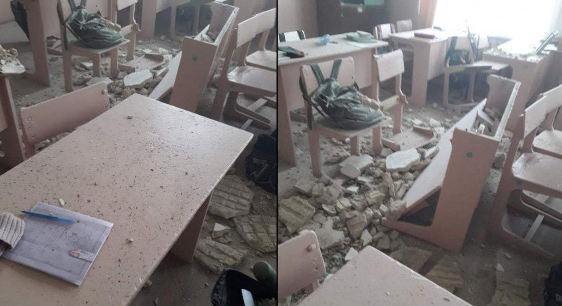 У школі на Чернігівщині під час навчання обвалилася стеля