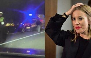 В ДТП потрапило авто з Ксенією Собчак: загинуло 2 людей