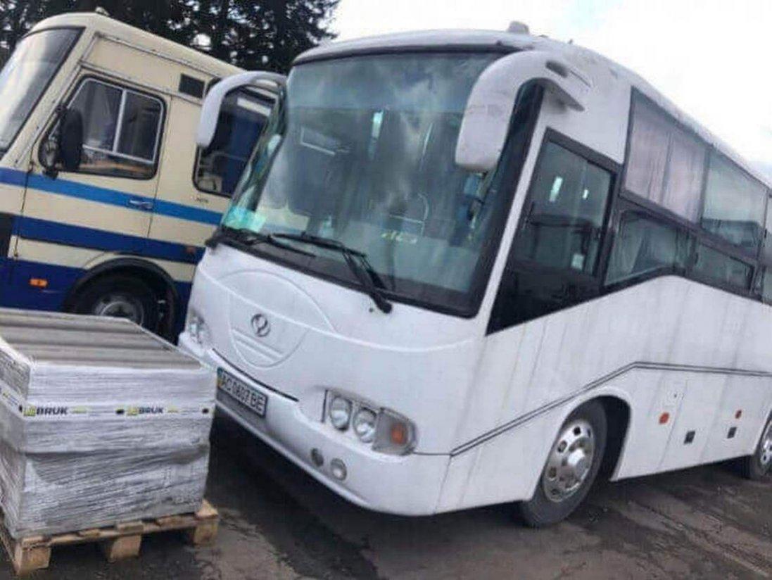 Невідомі викрали автобус Луцької районної ради