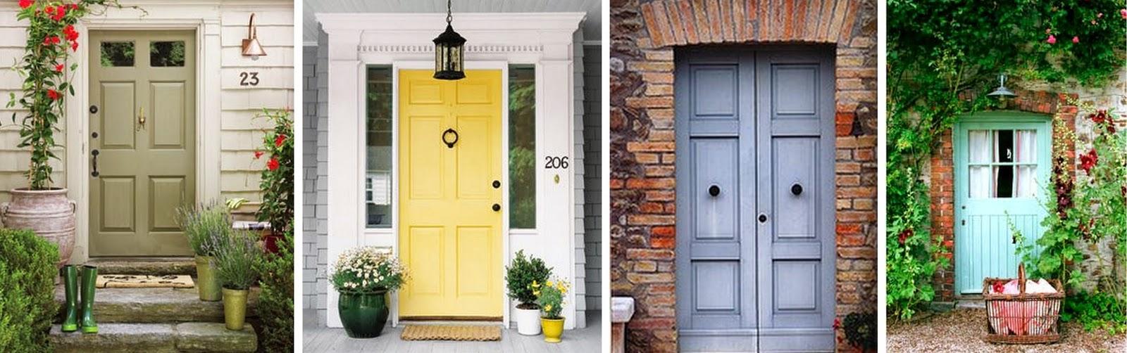 Best paint color for a front door design