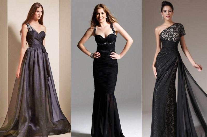 Черное платье на свадьбу к бывшему